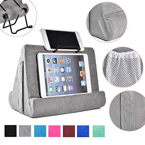 strety Tablet Kissen Kissenhalter Stand, Mini Tablet Computer Halter, Multi-Angle Soft Pillow für Tablets, E-Reader, Smartphones, Bücher, Zeitschriften