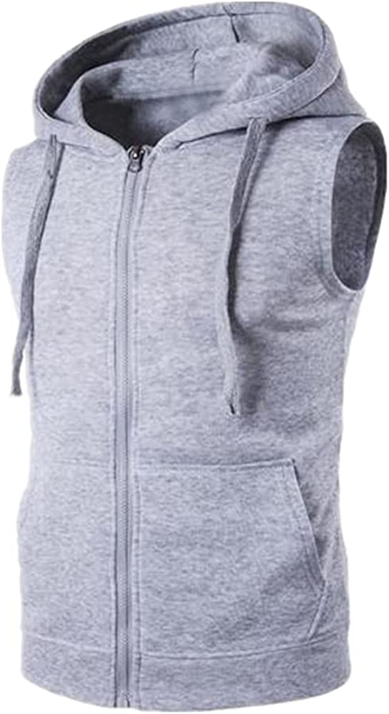 NP Spring Autumn Vest Men Color Vest Jacket Zipper Waistcoat Sleeveless
