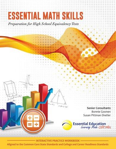 Essential Math Skills, Preparation for High School Equivalency Tests