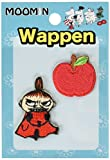 [2P set] emblem Moomin Little My & amp; apple MMAP470