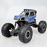 Weaston 1/16 Alloy Bigfoot Monster Truck, 2.4G Coche de Control Remoto eléctrico, Vehículo RC de Carga de Escalada Todoterreno 4WD, Coche de Carreras controlado por Radio de Grado Hobby para niños