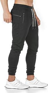 Yageshark - Pantaloni da jogging da uomo, in cotone, alla moda, elasticizzati, stile casual