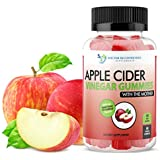 Apple Cider Vinegar Gummy Vitamins - 60 Day Supply of Apple Cider Vinegar Gummies with The Mother, B9, B12, Gluten-Free, Vegan, Non-GMO ACV for Immunity & Boost Energy, Delicious Apple Flavor