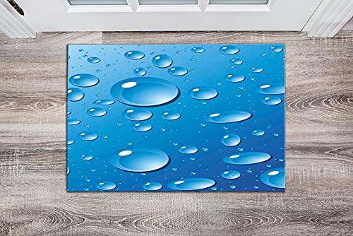 Atlas 502 - Felpudo moderno, decoración del hogar, alfombrilla para puerta delantera, alfombrilla para puerta, antideslizante, 20 x 28 pulgadas (50 x 70 cm)
