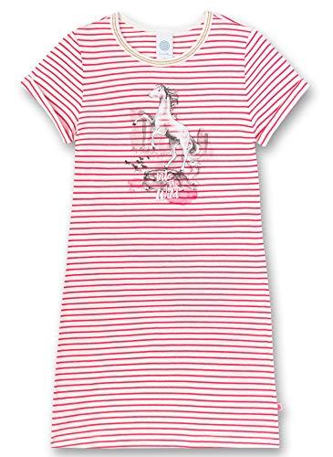 Sanetta Mädchen Nachthemd, Rosa (rosa 3845), (Herstellergröße:128)