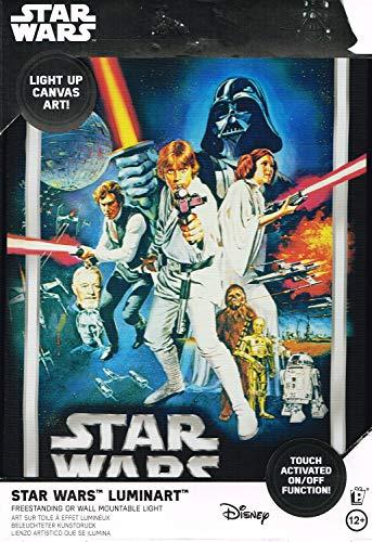 Paladone Star Wars Luminart DV, Leinwand, mehrfarbig