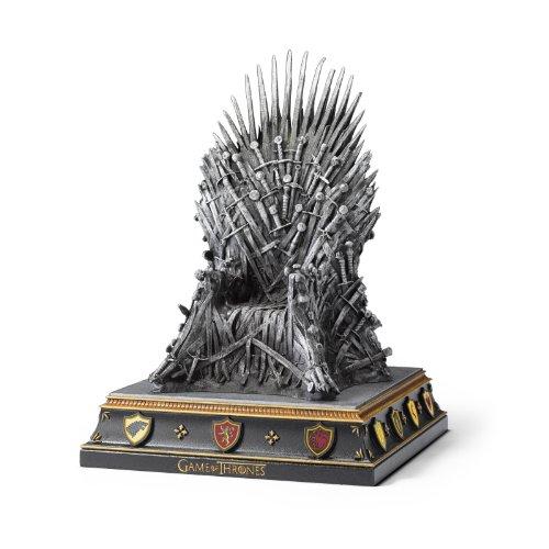 Tope para libros en forma del trono de hierro de «Juego de Tronos»