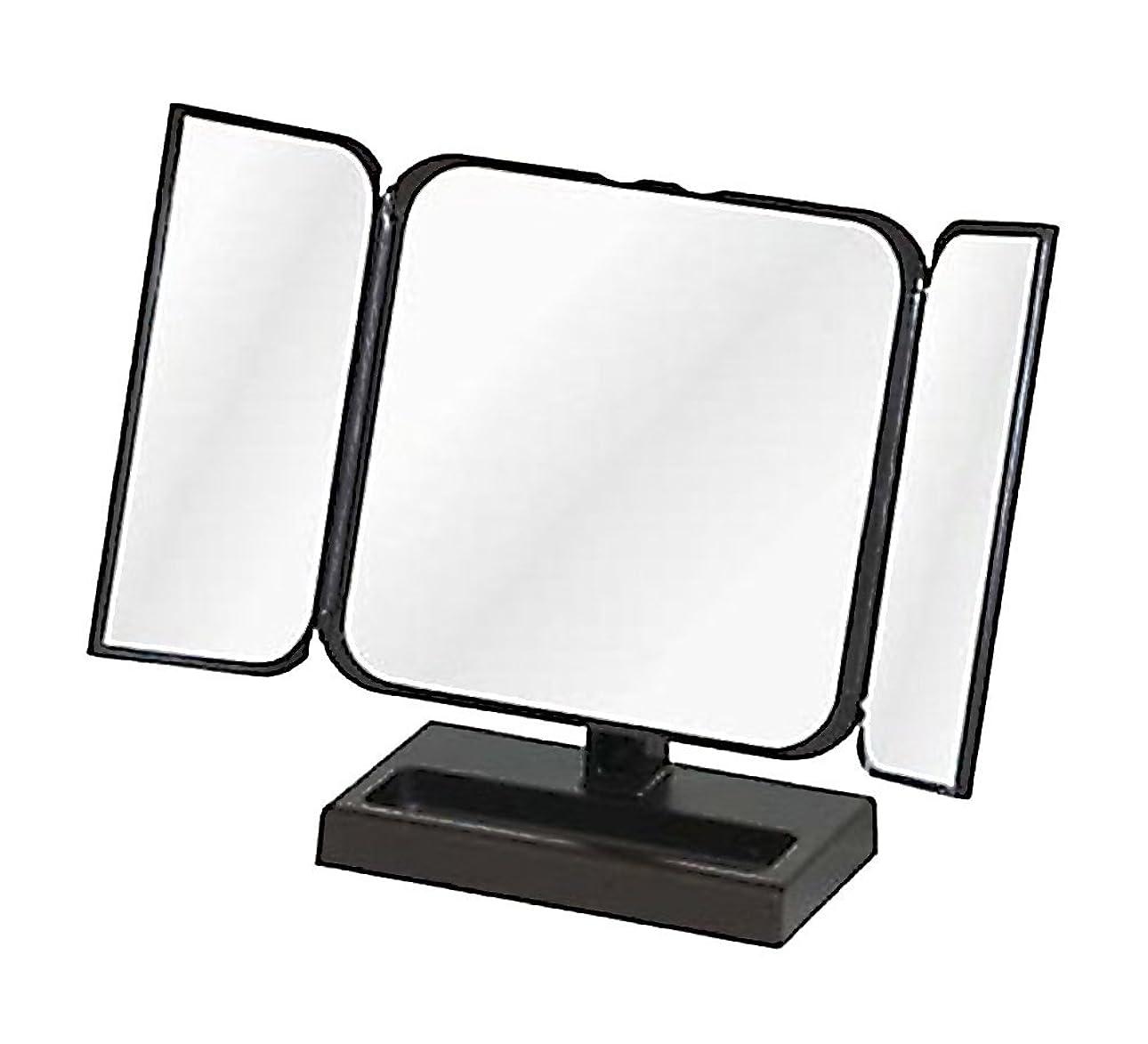 マキシムディレクトリぺディカブメリー プチ三面鏡 ブラック No.CH-8720