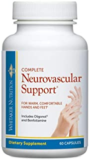 Dr. Whitaker's Complete Neuro-Vascular Support Supplement for Nerve Function and Microcirculation, 60 Capsules (30-Day Sup...