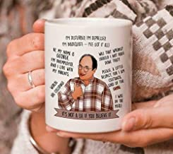 The Red Circle - George Costanza Seinfeld Quotes It's Not A Lie Coffee Mug 11oz