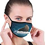 CZLXD Máscara Antipolvo de Sirena de Perro de Diente de Sable, máscara de Boca anticontaminación para Hombre y Mujer