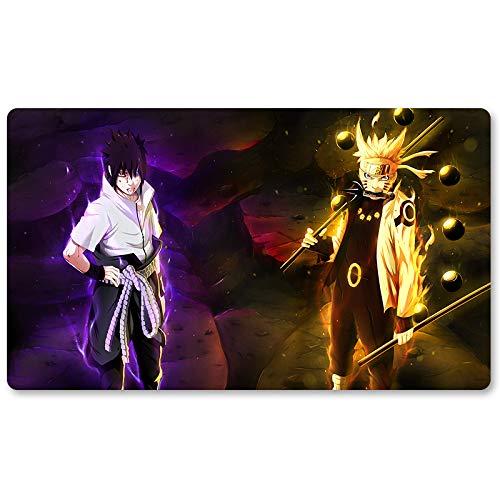 Naruto1-Tapis de Souris pour Jeu de société Pokémon 60 x 35 cm mousdpad Playmat of TCG mtg