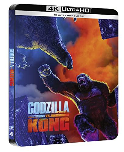 Godzilla Vs Kong - Steelbook 4k UHD + Blu-ray [Blu-ray]