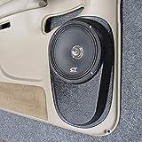 Custom Speaker Pods 8' Rear Door 2000-2006 Chevrolet Tahoe, Suburban, Silverado, Sierra, Yukon Stereo System Upgrade Installation