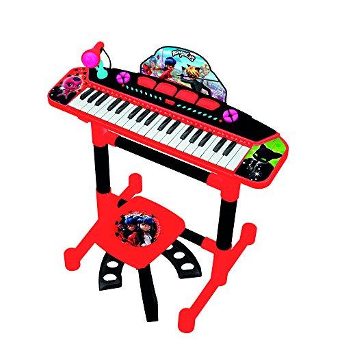 Reig 2686 Ladybug Keyboard op standaard met stoel