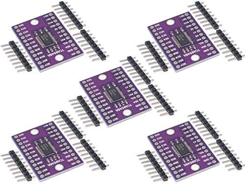 TECNOIOT 5pcs tca9548a 8 Channel i2c IIc Multi-Channel expansión Board 1-to-8 tca9548