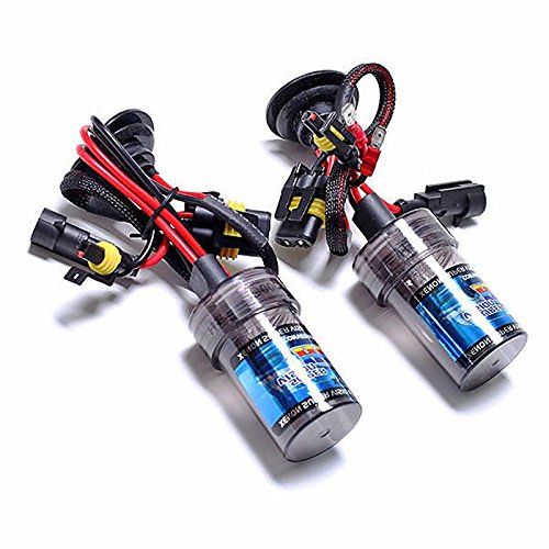 ZGMA H7 Automatique Ampoules électriques 35W 2400lm Xénon HID Lampe Frontale White