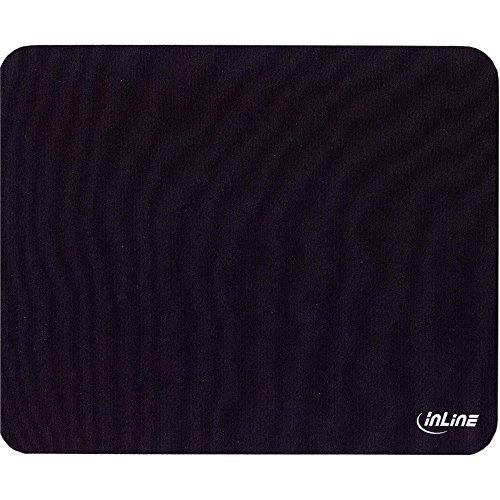 InLine 55450 Maus-Pad Recycled, schwarz, 230x190x2,5mm