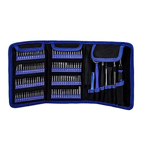lqgpsx 126 in 1 Schraubendreher-Set Torx-Schraubendreher-Set Schraubendreher-Set Set Reparaturwerkzeuge Set Präzisions-Schraubendreher für Telefone Tablet PC