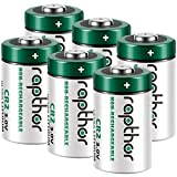 Rapthor 6 Pack 3V CR2 Lithium Battery 850mAh 3 Volt Non-Rechargeable Batteries Compatible with Fujifilm Instant Camera STAX Mini Rangefinder Flashlights Calculators