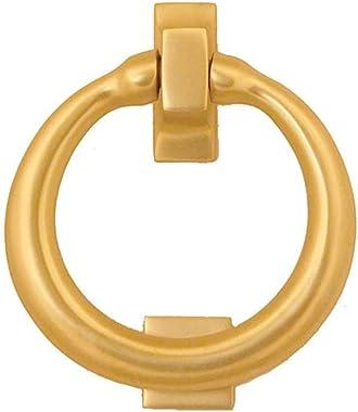 Ring Door Knocker - Brass (Premium Size)