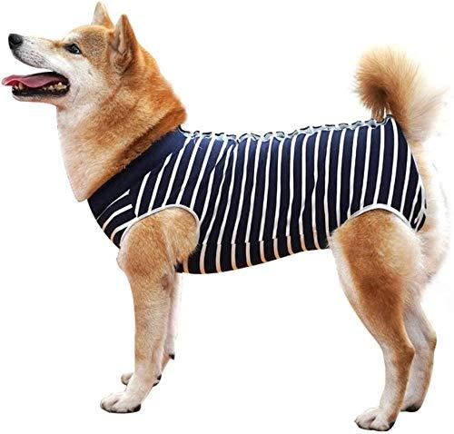 woudfuldd Hundeschutzkleidung, Tierschutzkleidung und Hundeschutzkleidung nach der Operation Lassen Sich leicht an- und ausziehen, um zu verhindern, DASS der Hund die Wunde leckt