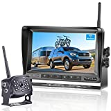 LeeKooLuu LK5 HD 960P Digital Wireless Backup Camera with 7''Monitor...