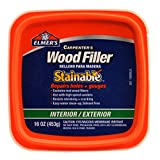 Best Wood Fillers - Elmer's E891 Carpenter's Stainable Wood Filler, 1 Pt Review