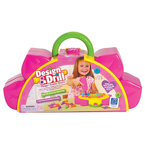 STEM birthday gift ideas for a 4 year old girl include learning how to drill.