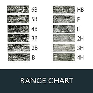 شراء Derwent Graphic Drawing Pencils, Medium, Metal Tin, 12 Count (34214)