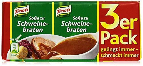 Knorr Schweinebraten Soße, 3 x 250ml