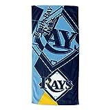 MLB Tampa Bay Rays 'Puzzle' Beach Towel, 34' x 72'