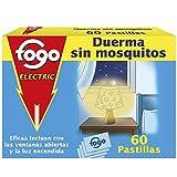 Fogo AntiMosquitos - Recambios de Insecticida eléctrico para mosquitos - Formato 60 pastillas