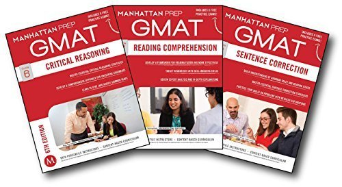 GMAT Verbal Strategy Guide Set (Manhattan Prep GMAT Strategy Guides) by Manhattan Prep (2014-12-02)