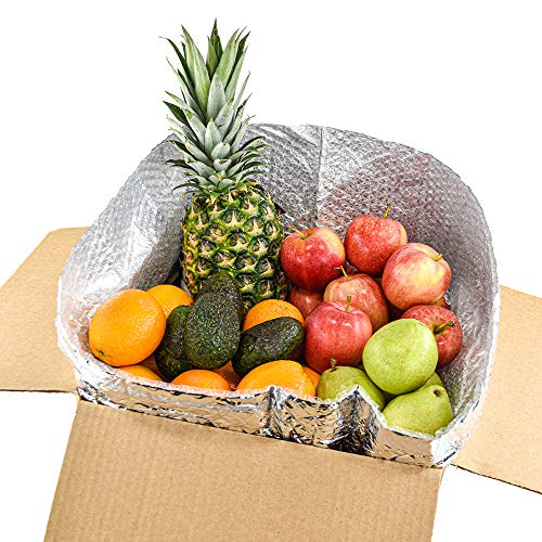 Gourmet Mixed Fruit Pack (15 Lbs) with - 1 Pineapple, 4 Avocado, 12 Apple, 12 Orange, 6 Pear (35 Pieces) from Capital City Fruit, Farm Produce Direct.