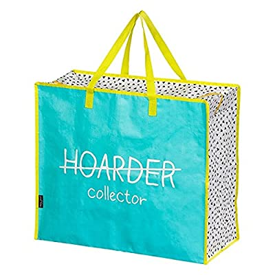 Happy Jackson HAP526 Reusable Tote Bag, Plastic, Hoarder/Collector from Happy Jackson