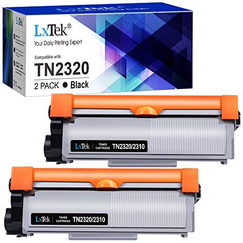 LxTek TN2320 Toner Compatibile per Brother TN-2320 TN-2310 TN2310 per Brother MFC-L2700DW MFC-L2700DN MFC-L2720DW MFC-L2740DW DCP-L2500D DCP-L2540DN HL-L2300D HL-L2360DN HL-L2340DW HL-L2365DW, 2 Nero