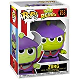 Funko Pop Animation : Remix - Alien as Zurg 3.75inch Vinyl Gift for Anime Fans SuperCollection