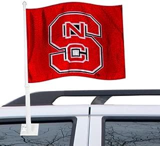 NCAA North Carolina State Car Flag, One Size, Multicolor