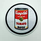 Toppa Campbell's Soup Lattine 7,6 cm POP ART WARHOL