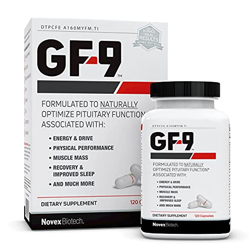 GF-9 – 120 Count - Supplements for Men - Male Supplements - Boost Critical Peptide That Supports Energy, Drive, Physical Performance, 30 Day Supply