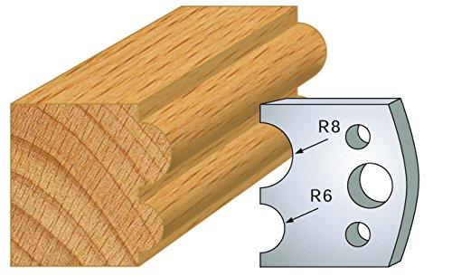 051: Krultang, hoogte 40 mm, voor gereedschapshouder, asafstand 24 mm, 2 stuks