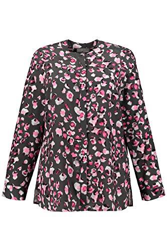 Ulla Popken Damen große Größen Bluse hellpink 50+ 751057 55-50+