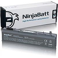 NinjaBatt Batería para DELL MP490 PT434 4M529 Latitude E6410 E6400 E6500 E6510 Precision M4400 M4500 KY265 NM631 GN752 U5209 KY477 - Alto Rendimiento [6 Celdas/4400mAh/49wh]