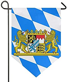 XUWU Home Garden Flag Bavarian Flag Vertical Double Sided Modern Farmhouse Yard Outdoor Decoration