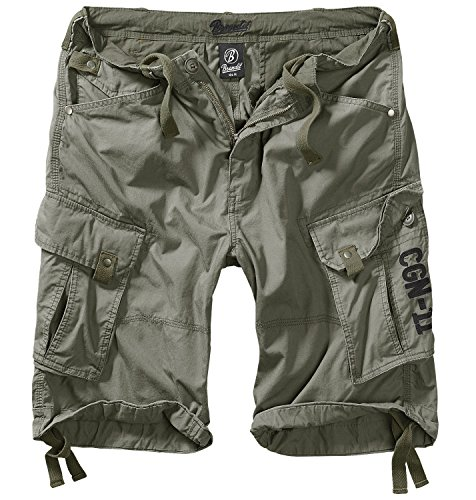 Columbia Mountain Shorts oliv - M