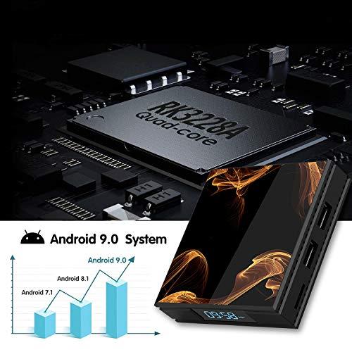 『Android 9.0 TV BOX ー Percrocuta 4K 高精細 アンドロイド9.0 Wifi テレビボックス RK3228A , 2GB RAM 16GB ROM 搭載 WIFI2.4GHz 経由 - Android TV BOX』の3枚目の画像