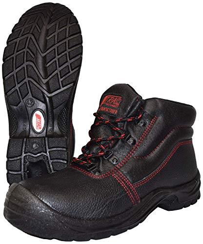 Zapatillas de Trabajo Nitras 7206 Basic Step II - Zapatillas de Seguridad livianos S3 para Hombres y Mujeres - Resistente al Agua con Punta de Acero - Tamaño 43
