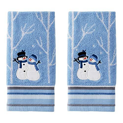 SKL Home by Saturday Knight Ltd. Winter Friends Hand Towel Set, Blue
