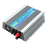 DC 22-60V Grid Tie Solar Inverter 600W Solar Power Inverter Stackable Pure Sine Wave for Home Theater Generators Air Conditioners(AC 100-120V)